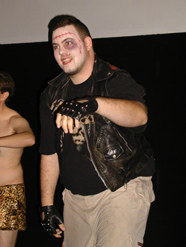 Queerios! Cast Member B.J. Wahl at The Rocky Horror Picture Show - Austin, Texas