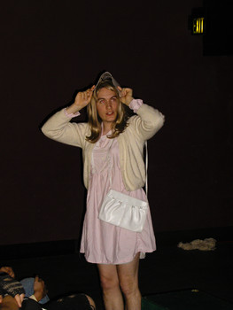 Queerios! Cast Member Andy Rochelle at The Rocky Horror Picture Show - Austin, Texas