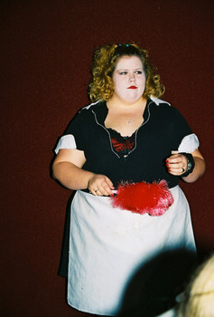 Queerios! Cast Member Tonya Deselms at The Rocky Horror Picture Show - Austin, Texas