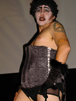 Queerios! Cast Member Rev. James Laljer at The Rocky Horror Picture Show - Austin, Texas