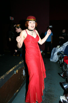 Queerios! Cast Member Amy Cassell at The Rocky Horror Picture Show - Austin, Texas