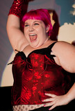 Queerios! Cast Member Raini Shuffield at The Rocky Horror Picture Show - Austin, Texas