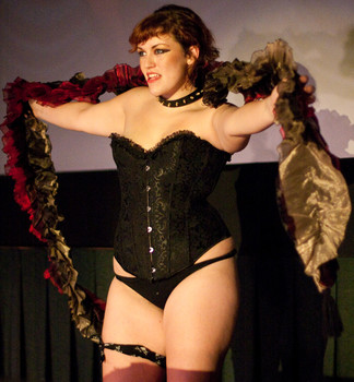 Queerios! Cast Member Marley Cullers at The Rocky Horror Picture Show - Austin, Texas