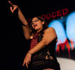 Queerios! Cast Member Maggie Chamberlain at The Rocky Horror Picture Show - Austin, Texas