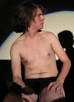 Queerios! Cast Member Glenn Fraser at The Rocky Horror Picture Show - Austin, Texas