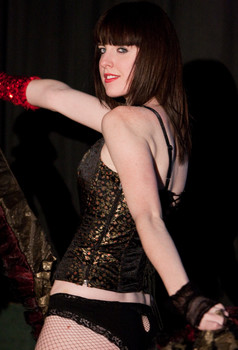 Queerios! Cast Member Blakesley King at The Rocky Horror Picture Show - Austin, Texas