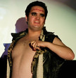 Queerios! Cast Member Sebastian Garcia at The Rocky Horror Picture Show - Austin, Texas
