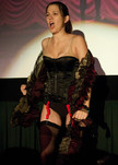 "Queerios! Cast Member Kirsten (""Kiera"") DeHart at The Rocky Horror Picture Show - Austin, Texas"
