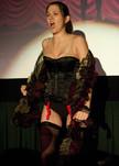 "Queerios! Cast Member Kirsten (""Kiera"") DeHart at The Rocky Horror Picture Show - Austin, Texas"