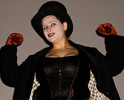 Queerios! Cast Member Rev. Lindsay King Mears as Trixie at The Rocky Horror Picture Show - Austin, Texas