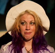 Queerios! Cast Member Lauren Matyis as Janet Weiss at The Rocky Horror Picture Show - Austin, Texas