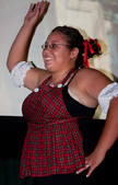 "Queerios! Cast Member Lauren (""Ducky"") Kincaid at The Rocky Horror Picture Show - Austin, Texas"