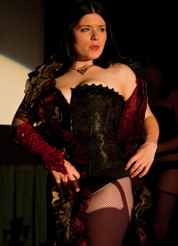 Queerios! Cast Member Miss Tre at The Rocky Horror Picture Show - Austin, Texas