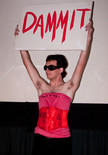 """Queerios! Cast Member Christopher (""""CW"""") Reynolds at The Rocky Horror Picture Show - Austin, Texas"""