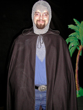 "Queerios! Cast Member David (""Vader"") Steinpreis at The Rocky Horror Picture Show - Austin, Texas"