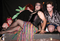 Queerios! Beach Night Rookie Horror Cast Photo - The Rocky Horror Picture Show in Austin, Texas