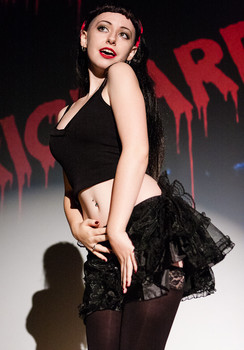 Queerios! Cast Member Ella Clark at The Rocky Horror Picture Show - Austin, Texas