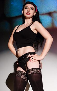 Queerios! Cast Member Ella Clark at The Rocky Horror Picture Show - Austin, Texas