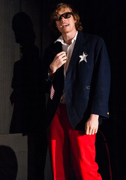 Queerios! Cast Member Wes Corwin at The Rocky Horror Picture Show - Austin, Texas