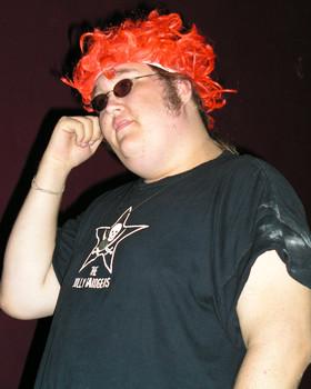 Queerios! Cast Member Matthew Jones at The Rocky Horror Picture Show - Austin, Texas