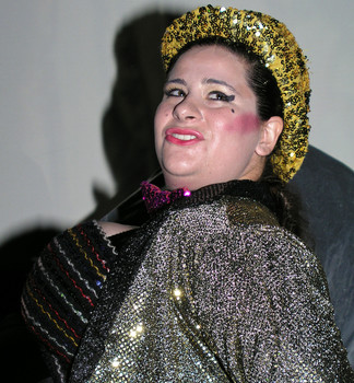 Queerios! Cast Member Rev. Lindsay King Mears at The Rocky Horror Picture Show - Austin, Texas