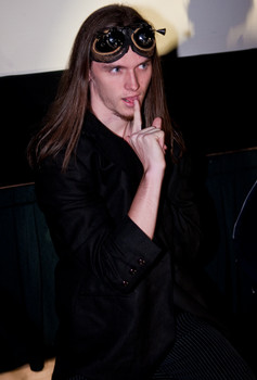 Queerios! Cast Member Trevor Fountain at The Rocky Horror Picture Show - Austin, Texas