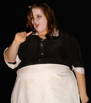 Queerios! Cast Member Lisa Marie Hayes at The Rocky Horror Picture Show - Austin, Texas