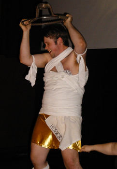 Queerios! Cast Member Aaron Hartmann at The Rocky Horror Picture Show - Austin, Texas