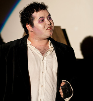 Queerios! Cast Member Ian Stillwell at The Rocky Horror Picture Show - Austin, Texas