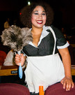 "Queerios! Cast Member Ashley (""Squishy"") Cano at The Rocky Horror Picture Show - Austin, Texas"