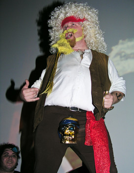 Queerios! Cast Member Stevo Davis at The Rocky Horror Picture Show - Austin, Texas