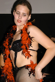 Queerios! Cast Member Becky Johnson at The Rocky Horror Picture Show - Austin, Texas