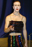 Queerios! Cast Member Berry Mears at The Rocky Horror Picture Show - Austin, Texas