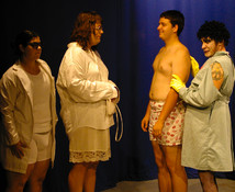 Queerios! Old Bitty Show Cast Photo - The Rocky Horror Picture Show in Austin, Texas