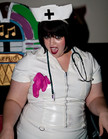 Queerios! Cast Member Holli Jackson at The Rocky Horror Picture Show - Austin, Texas