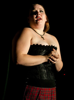 Queerios! Cast Member Brittany Keener at The Rocky Horror Picture Show - Austin, Texas