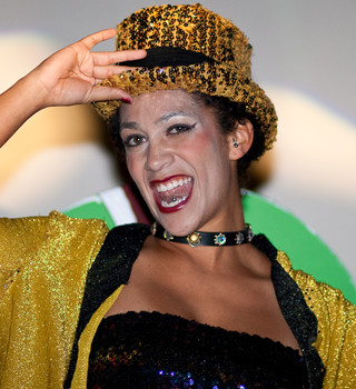 Queerios! Cast Member Sam Vazquez at The Rocky Horror Picture Show - Austin, Texas