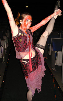 Queerios! Cast Member Tricia Storie at The Rocky Horror Picture Show - Austin, Texas