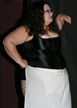 Queerios! Cast Member Bobbi Landsee at The Rocky Horror Picture Show - Austin, Texas