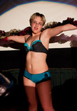 Queerios! Cast Member Jessica Fly at The Rocky Horror Picture Show - Austin, Texas