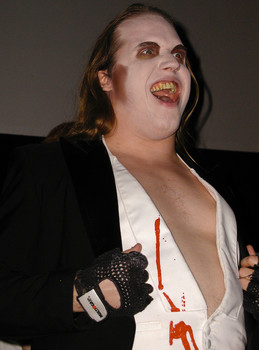Queerios! Cast Member Shawn McHorse at The Rocky Horror Picture Show - Austin, Texas