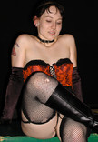 "Queerios! Cast Member Kristian (""Angel"") L. at The Rocky Horror Picture Show - Austin, Texas"