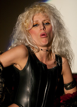 Queerios! Cast Member Dusty Dayn at The Rocky Horror Picture Show - Austin, Texas