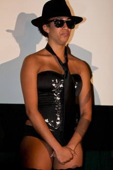 Queerios! Cast Member Sam Vazquez at The Rocky Horror Picture Show - Austin, Texas