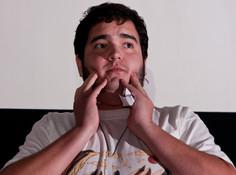 Queerios! Cast Member Sebastian Garcia as Dr. Everett V. Scott at The Rocky Horror Picture Show - Austin, Texas