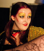 Queerios! Cast Member Jenny Barrow as Columbia at The Rocky Horror Picture Show - Austin, Texas