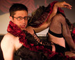 Queerios! Cast Member Patrick Yonkin at The Rocky Horror Picture Show - Austin, Texas