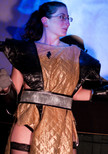 Queerios! Cast Member Brooke Schepp at The Rocky Horror Picture Show - Austin, Texas
