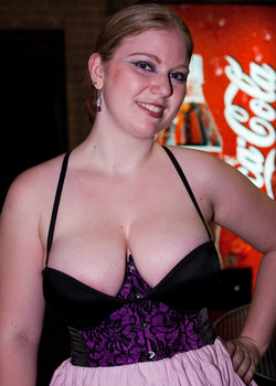 Queerios! Cast Member Victoria Husson at The Rocky Horror Picture Show - Austin, Texas