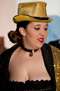Queerios! Cast Member Shannon Hurn at The Rocky Horror Picture Show - Austin, Texas